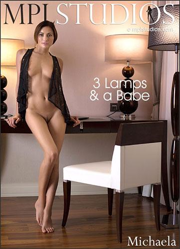"Michaela Isizzu ""3 Lamps & a Babe"""