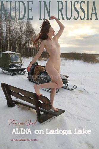Nude in Russia 2019-12-20 Alina S On Ladoga Lake