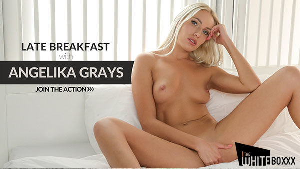 """Angelika Grays """"Blonde Girl is Relaxing With Anal Sex"""""""