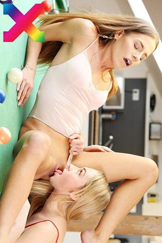 "Eveline & Jenny Wild ""Game Shot Eight Ball Sex"""