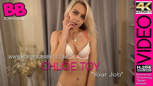 "Chloe Toy ""Your Job"""