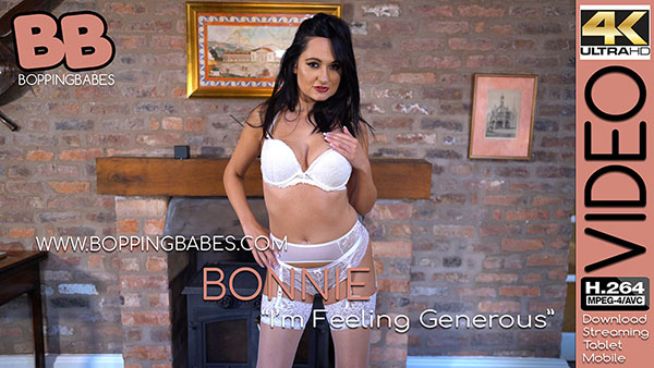 """Bonnie """"Im Feeling Generous"""""""
