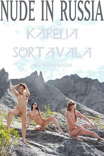 "Nimfa, Abbey & Nastia B ""Karelia Sortavala"""