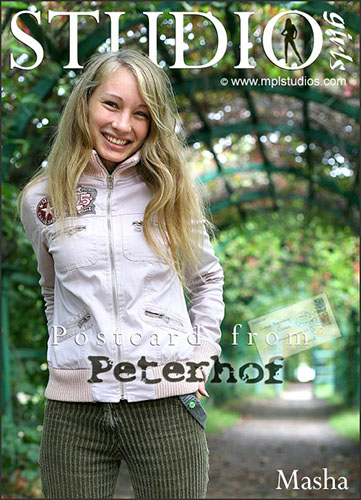 "Masha ""Postcard from Peterhof"""