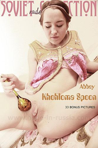 "Abbey ""Khohloma Spoon"""