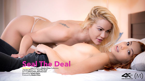 """Cherry Kiss & Veronica Leal """"Seal The Deal"""""""