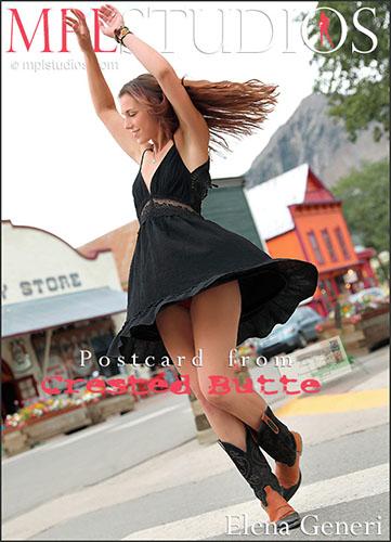 "Elena Generi ""Postcard: Crested Butte"""