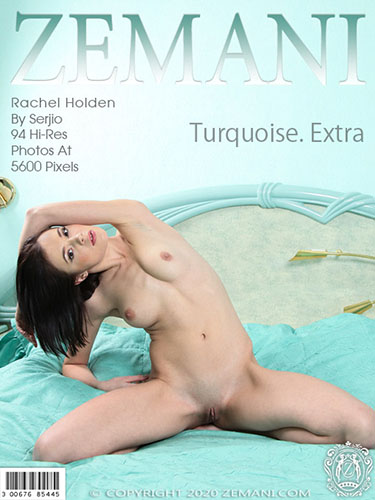 "Rachel Holden ""Turquoise. Extra"""