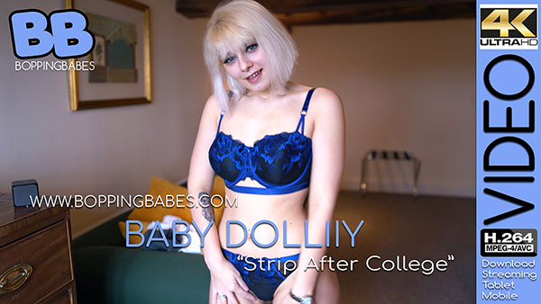 "Baby Dolliiy ""After College Strip"""
