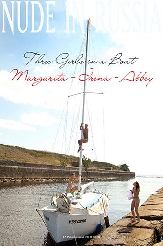 """Margarita S, Irena K & Abbey """"3 Girls in a Boat"""""""