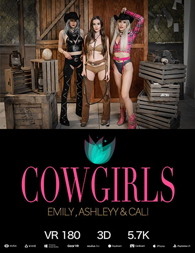 "Emily Bloom, Ashleyy & Cali ""Cowgirls"""