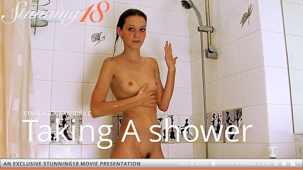"Alexandra C ""Taking A Shower"""