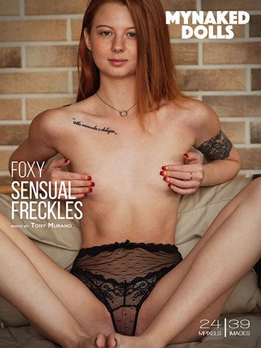 """Foxy """"Sensual Freckles"""""""