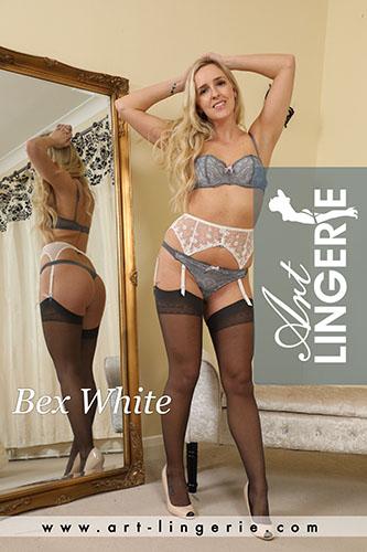 Bex White Photo Set 9772