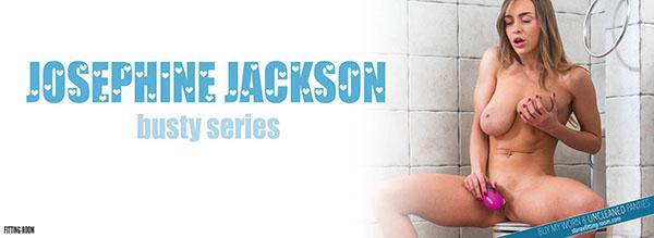 """Josephine Jackson """"Stunning Busty Babe"""""""