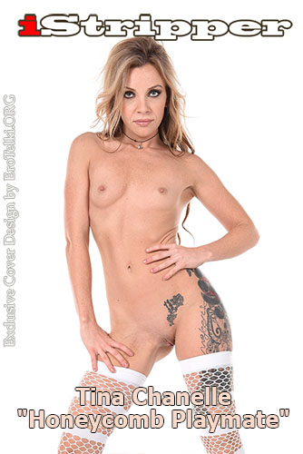 """Tina Chanelle """"Honeycomb Playmate"""""""
