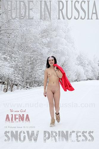 "Alena M  ""Snow Princess"""