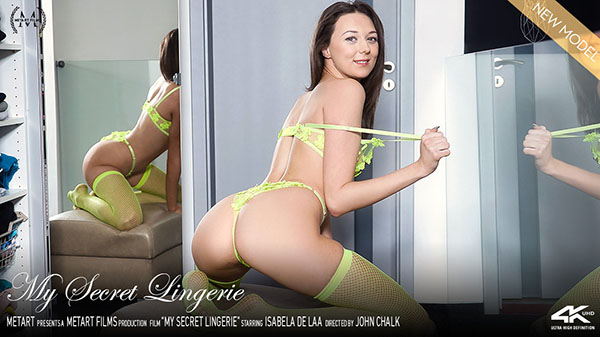 "Isabela De Laa ""My Secret Lingerie"""