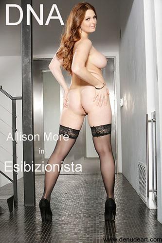 """Allison More """"Esibizionista"""""""