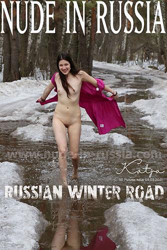 """Katja P """"Russian Winter Road"""""""