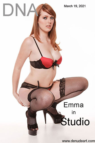 "Emma ""Busty Natual Redhead With Sexy Lingerie"""