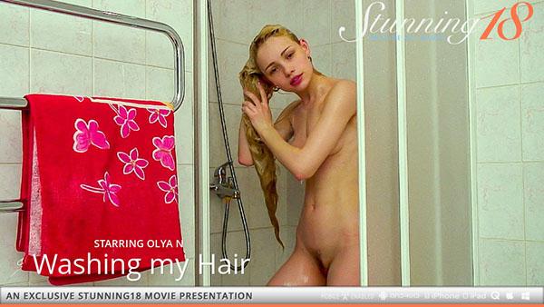"""Olya N """"Washing my Hair"""""""