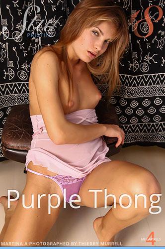 "Martina A ""Purple Thong"""