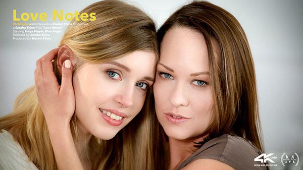 "Blue Angel & Freya Mayer ""Love Notes"""