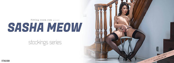 """Sasha Meow """"Erotic Garter Belts"""""""
