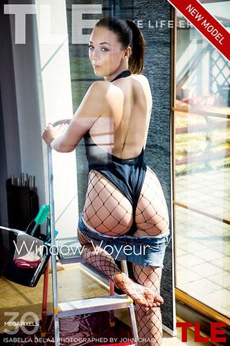 """Isabela Delaa """"Window Voyeur 1"""""""