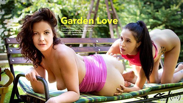 "Alyssa Bounty & Dolly Diore ""Garden Love"""