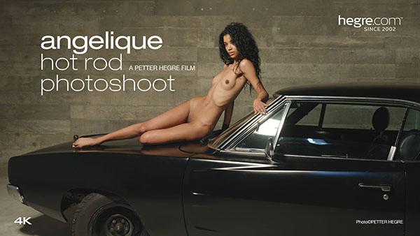 "Angelique ""Hot Rod Photo Shoot"""