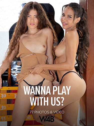 """Abril & Irene Rouse """"Wanna Play With Us?"""""""