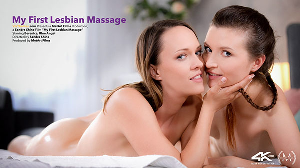 "Berenice & Blue Angel ""My First Lesbian Massage"""