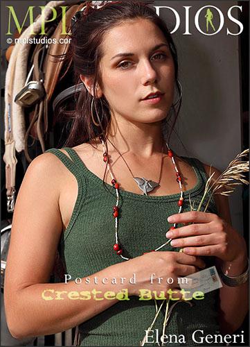 "Elena Generi ""Postcard From Crested Butte"""