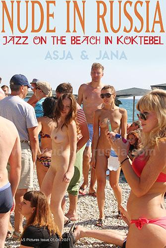 "Jana A & Asja K ""Jazz on the Beach in Koktebel"""