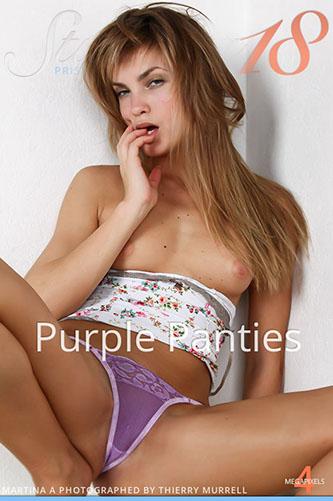 """Martina A """"Purple Panties"""""""
