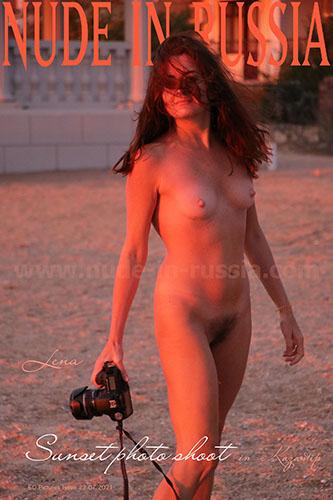 """Lena W """"Sunset Photo Shoot"""""""