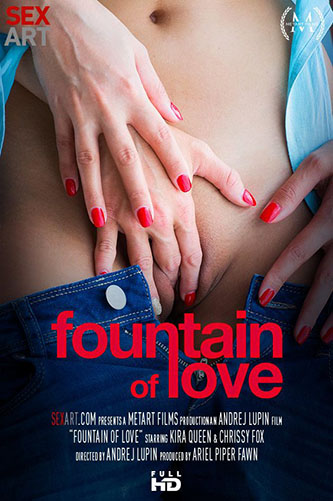 "Chrissy Fox & Kira Queen ""Fountain of Love"""