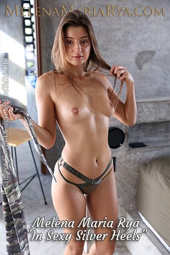 "Melena Maria Rya ""In Sexy Silver Heels"""