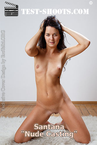 "Santana ""Beautiful Girl Masturbates in Nude Casting"""