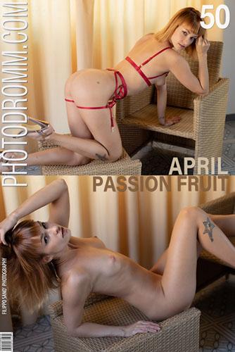 """April """"Passion Fruit"""""""