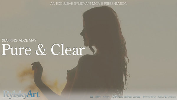 """Alice May """"Pure & Clear"""""""